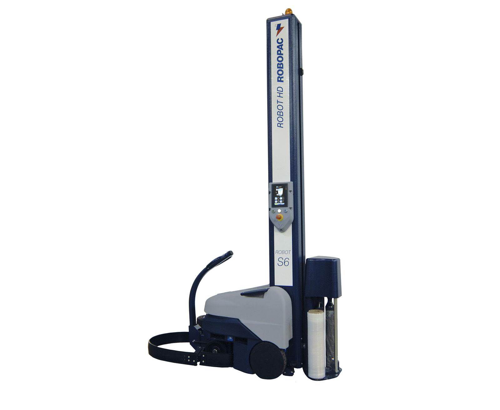 A ROBOPAC stretch film machine